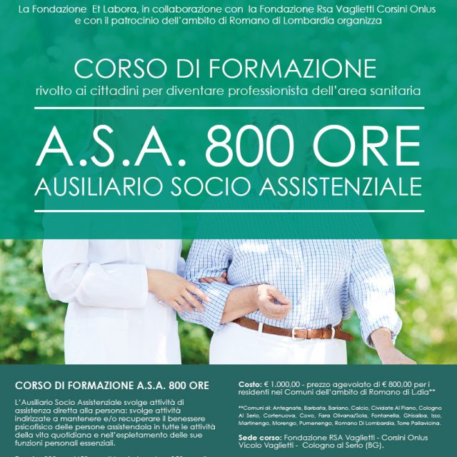 CORSO ASA 800 ORE