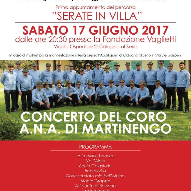 """Concerto alpino """"Coro A.N.A. di Martinengo"""""""
