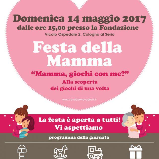 """14 maggio: Festa della Mamma """"Mamma,"""