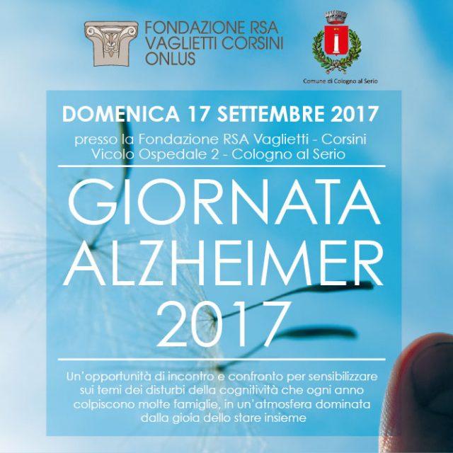 GIORNATA ALZHEIMER 2017